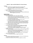 LAW 603 Chapter Notes - Chapter 20: Apparent Authority, Fiduciary