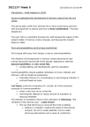 INI100H1 Lecture Notes - Lecture 6: Cinema Of Germany, Lotte H. Eisner, Stimmung