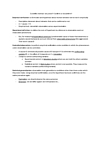 Psychology 2550A/B Lecture Notes - Statistical Power, Dependent And Independent Variables, Type A And Type B Personality Theory