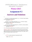 assignment 2 solution.docx