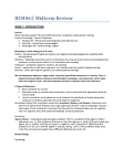 RSM100Y1 Study Guide - Midterm Guide: Safelite, Balanced Scorecard, Belron