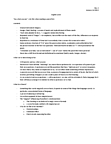 ENGLISH 1A03 Lecture Notes - Musical Instrument