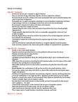BIOL 103 Chapter Notes -Ford Power Stroke Engine, Chitin, Plasmolysis