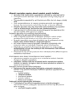 BMEN 515 Lecture Notes - Sympatric Speciation, Hybrid Zone, Reproductive Isolation