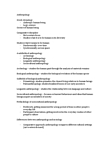 AN101 Lecture Notes - Sociocultural Anthropology, Linguistic Anthropology, Biological Anthropology