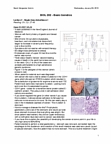 BIOL 202 Lecture Notes - Lecture 2: Pea, Esophagogastroduodenoscopy, Gastrectomy