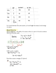 CHM242H5 Lecture Notes - Bond Length, Bond Energy, Electronegativity