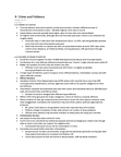 Sociology 2140 Chapter Notes - Chapter 4: Youth Criminal Justice Act, Aggravated Sexual Assault, Assault