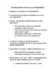 POLS 3270 Lecture Notes - Centre Wellington, Ontario, Metropolitan Toronto, Greater Toronto Area