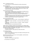 Management and Organizational Studies 1023A/B Lecture Notes - Net Present Value, Financial Intermediary, Systematic Risk