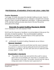 BUS 426 Lecture Notes - American Accounting Association, Audit Evidence, Audit Risk