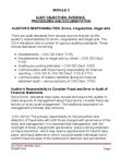 BUS 426 Lecture Notes - Financial Audit, Audit Evidence, Audit Risk