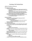 Psychology 2990A/B Study Guide - Eyewitness Identification, Jury Trial, Posttraumatic Stress Disorder