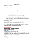 PSY343H1 Lecture Notes - Joseph Wolpe, Systematic Desensitization, Contingency Management