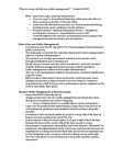 POLS 2250 Lecture Notes - Lecture 6: New Public Management, Donald J. Savoie, National Partnership For Reinventing Government