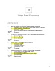 ADMS 3330 Study Guide - Linear Programming Relaxation, Sensitivity Analysis, Feasible Region