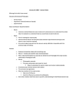 HPS211H1 Lecture Notes - Natural Philosophy, Newtonianism
