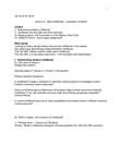 CHYS 1F90 Lecture Notes - Best Interests, Factory Acts, Middle Ages