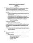 PSYCH 1X03 Lecture Notes - Systematic Desensitization, Drug Tolerance, Bradypnea
