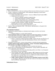 SOC313H1 Lecture Notes - Lecture 8: Posttraumatic Stress Disorder, Parens Patriae, Erving Goffman