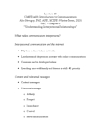 CMST 1A03 Lecture Notes - Chartered Institute Of Public Relations, Interpersonal Communication