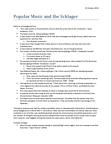 GER100 Lecture Notes - Rudi Schuricke, Joseph Goebbels, Wunschkonzert