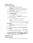 PSY100H1 Lecture Notes - Motivation, Erection, Human Sexual Response Cycle