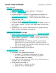 Health Sciences 1002A/B Study Guide - Final Guide: Biomedical Model, Health Promotion, Improved Sanitation