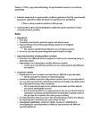 PSYC 3020 Lecture Notes - Eyewitness Identification, Eyewitness Memory, Detection Theory