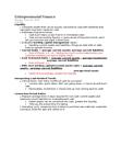 BU121 Lecture Notes - Cash Conversion Cycle, Asset, Corporate Finance