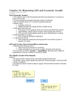 EC140 Lecture Notes - January 8, Purchasing Power Parity, Potential Output