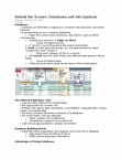 CP102 Lecture Notes - Sql, Query Language, Data Cube