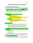 ES295 Lecture Notes - Ecotourism, Biome, Biogeography