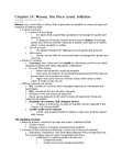 EC140 Lecture Notes - Open Market Operation, Mortgage Loan, Credit Union