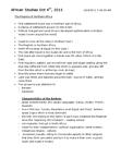 NEW150Y1 Lecture Notes - University Of Al Quaraouiyine, Afroasiatic Languages
