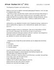 NEW150Y1 Lecture Notes - Mount Kilimanjaro, Congo River, Random Island