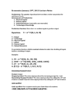 ECON 1BB3 Lecture Notes - Marginal Product, Production Function, Human Capital Flight