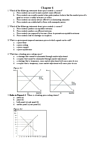 ECN 104 Lecture Notes - Price Ceiling, Price Floor, Price Controls