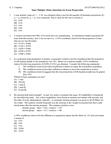 STAT 2040 Study Guide - Final Guide: Chi-Squared Test, Iris Virginica, Iris Versicolor