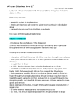 NEW150Y1 Lecture Notes - Human Capital, Atlantic Slave Trade