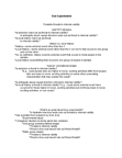PSYCH291 Lecture Notes - Internal Validity, Random Assignment