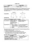 PSYCH291 Lecture Notes - Dependent And Independent Variables, Random Assignment
