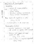 Transcription Regulation