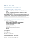 CMNS 110 Lecture Notes - Lecture 5: David Sarnoff, Wield, Understanding Media