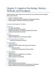 PSYCH207 Chapter Notes - Chapter 1: Noam Chomsky, Empiricism, David H. Hubel