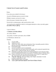LWSO 203 Lecture Notes - Voir Dire, Summary Offence, Indictable Offence