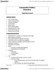 Political Science 1020E Lecture Notes - Direct Election, University Of Western Ontario, Liberal Democracy
