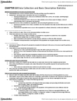 MKT 500 Study Guide - Data Analysis, Frequency Distribution, Central Tendency