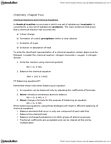 CHM110H5 Chapter Notes - Chapter 4: Triethylene Glycol, Cyclohexene, Molar Concentration