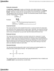 CHM110H5 Chapter Notes -Thiol, Sodium Nitrate, Molar Mass